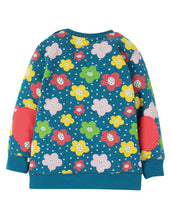 Load image into Gallery viewer, Frugi Multi Coloured Floral Spot Sweatshirt