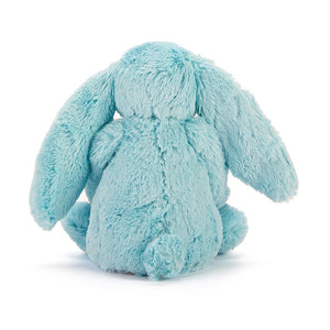 Jellycat Medium Bashfull Bunny in Aqua
