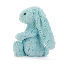 Load image into Gallery viewer, Jellycat Medium Bashfull Bunny in Aqua