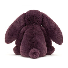 Load image into Gallery viewer, jellycat bashful plum bunny medium back view