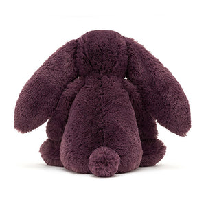 jellycat bashful plum bunny medium back view