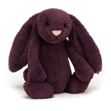 Load image into Gallery viewer, Jellycat Bashful Plum Bunny Medium