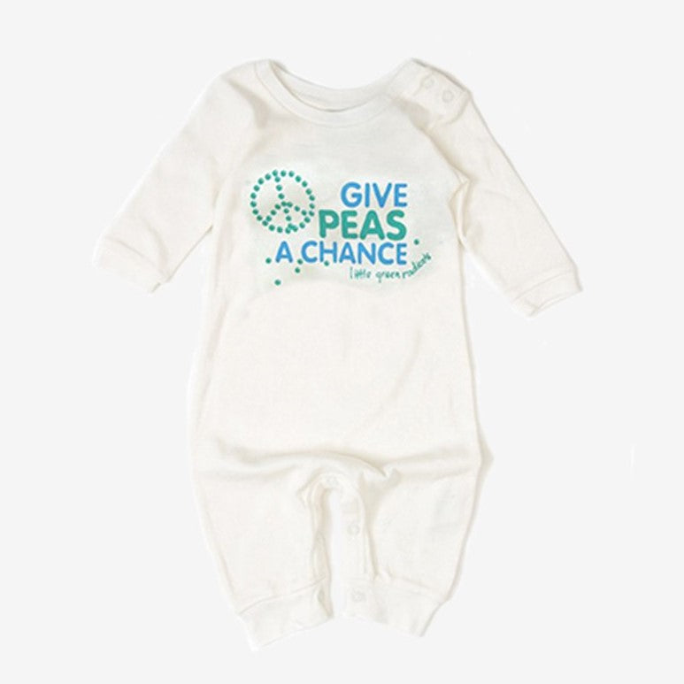 LGR Give Peas A Chance Babygrow