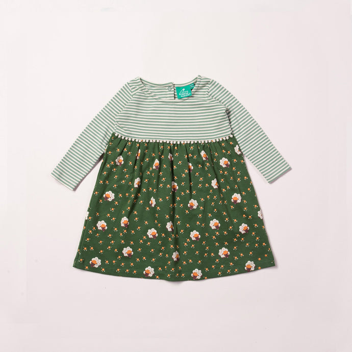 Little Green Radicals Easy Peasy Golden Sheep Dress