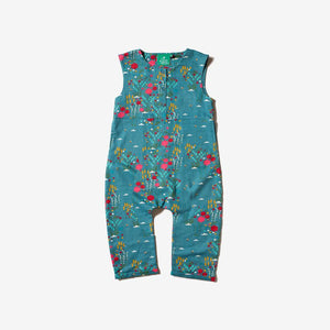 Little Green Radicals Wildflower Meadow Print Jumpsuit