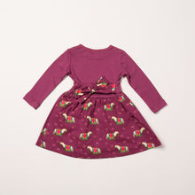 Load image into Gallery viewer, LGR Nordic Horses Little Twirler Dress