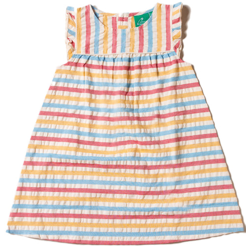 lgr seersucker striped dress