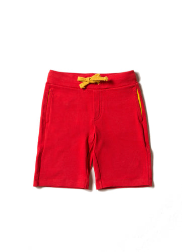 LGR Red Jersey Beach Shorts