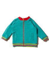 Load image into Gallery viewer, Little Green Radicals Reversible Explorer Varsity Jacket Reversed