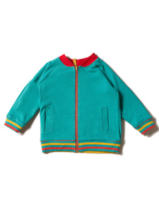 Little Green Radicals Reversible Explorer Varsity Jacket Reversed