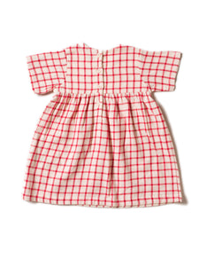 Little Green Radicals Red Checked Summer Dress