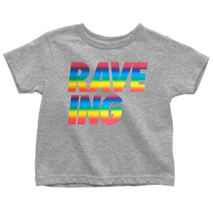Lella RAVE ING T Shirt Grey Rainbow