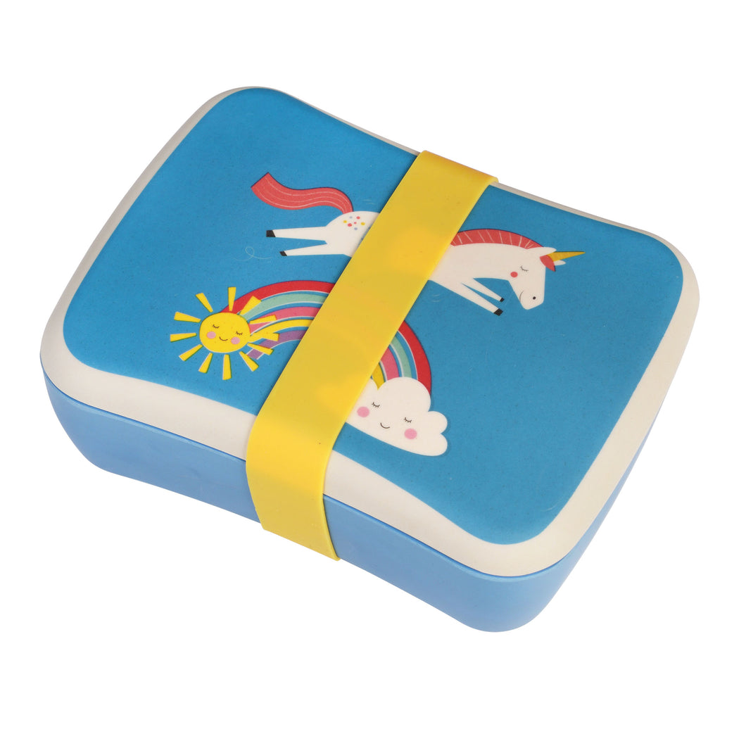 Magical Unicorn Bamboo Lunchbox