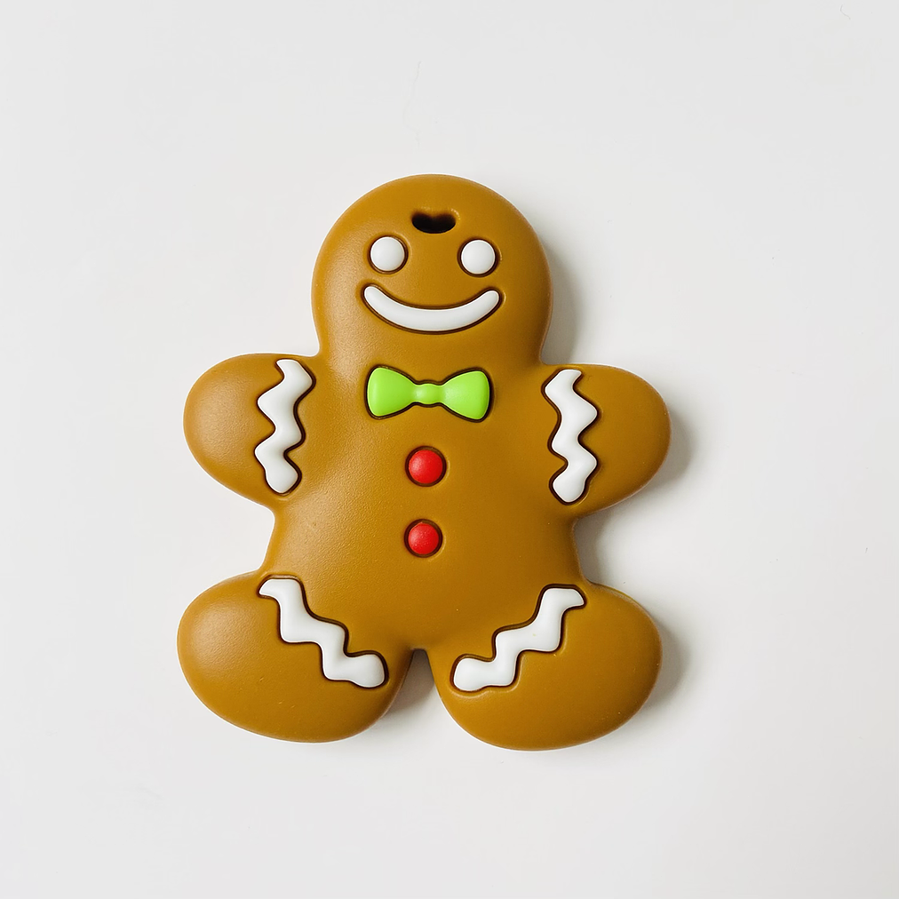 Mama Knows Gingerbread Man Teether