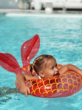 Load image into Gallery viewer, sunnylife mini mermaid inflatable rubber ring