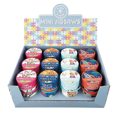 Floss & Rock mini jigsaw puzzles with 25 pieces