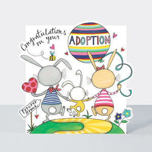 Rachel Ellen Congratulations on Your Adoption Card