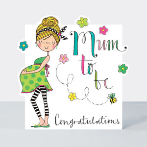 Rachel Ellen Mum to Be Card