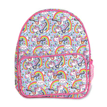 Load image into Gallery viewer, Rachel Ellen unicorns & rainbows children's rucksack