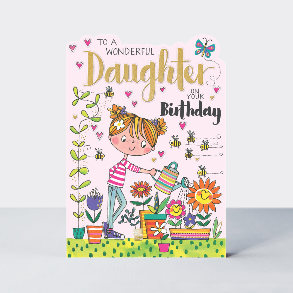 rachel ellen daughter birthday card