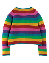 Load image into Gallery viewer, frugi rainbow swing cardi