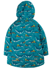 Load image into Gallery viewer, Frugi Rainbow Whales Explorer Coat