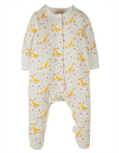 Load image into Gallery viewer, frugi lovely runner ducks babygrow