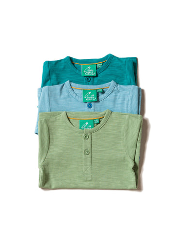 Little Green Radicals Pack of Three Organic Cotton T-Shirts