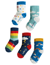 Load image into Gallery viewer, Frugi Socks In A Box (Weather)