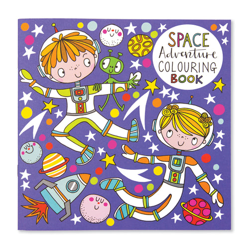Rachel Ellen space themed colouring book