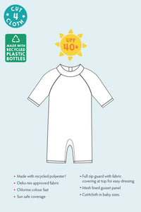 frugi sunsafe suit infographic