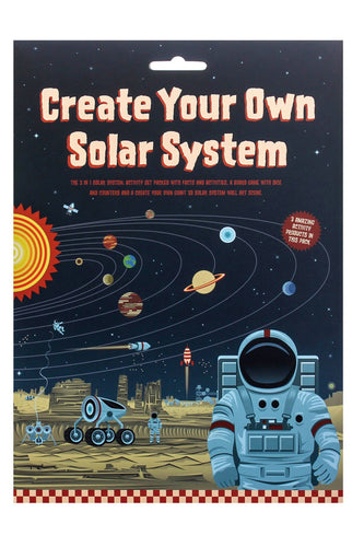 Clockwork Soldier create your own solar system kit