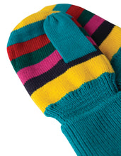 Load image into Gallery viewer, frugi merry stripey knitted mittens