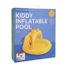 Load image into Gallery viewer, Sunnylife Kiddy Yellow Paddling Pool Lion