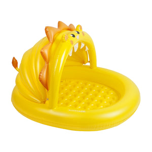 Sunnylife Kiddy Yellow Paddling Pool Lion