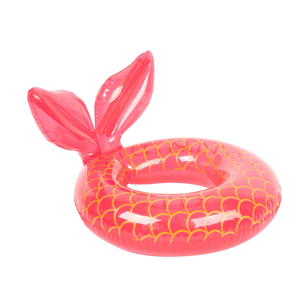 sunnylife mini mermaid inflatable rubber ring