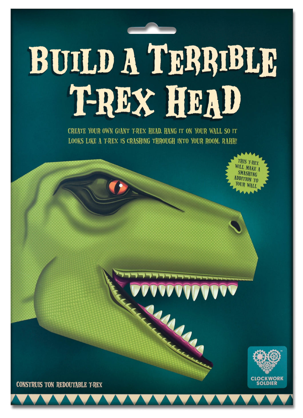 Clockwork Soldier create your own terrible T-Rex head