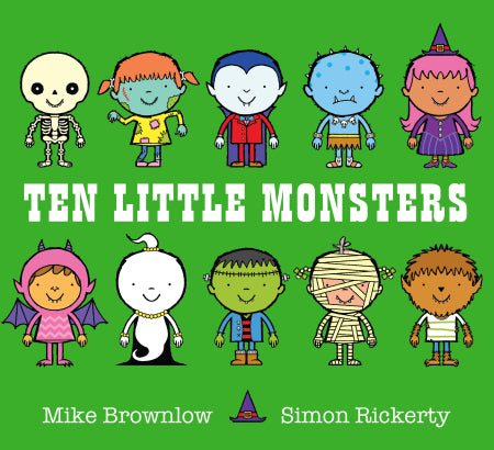 ten little monsters book