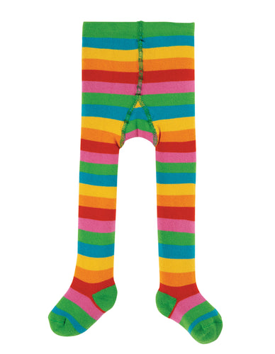 frugi toasty rainbow tights