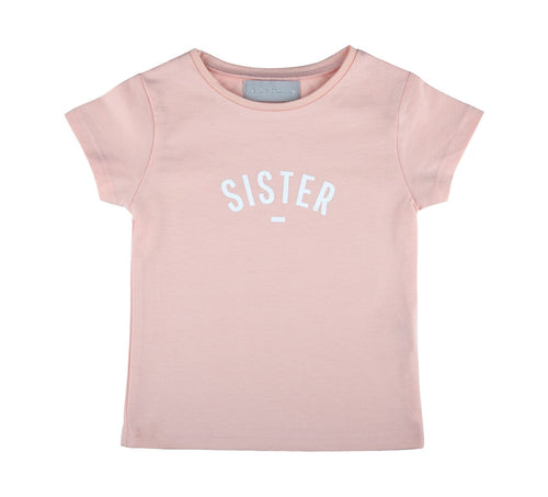 Bob & Blossom Blush Sister Cap-Sleeved T-Shirt