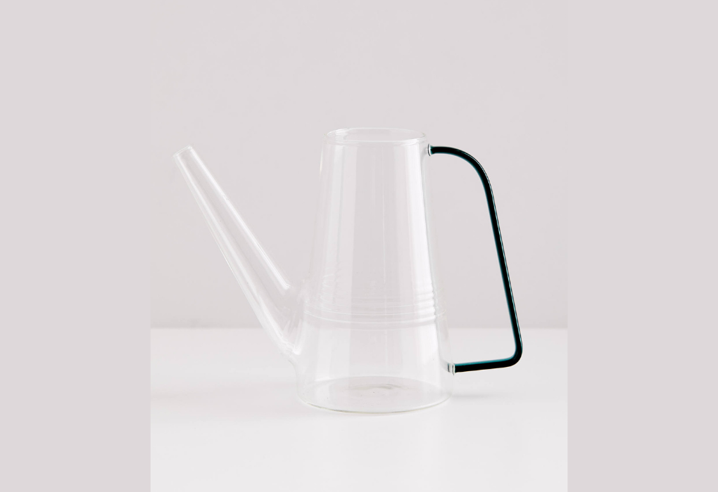 Transparent Glass Watering Can