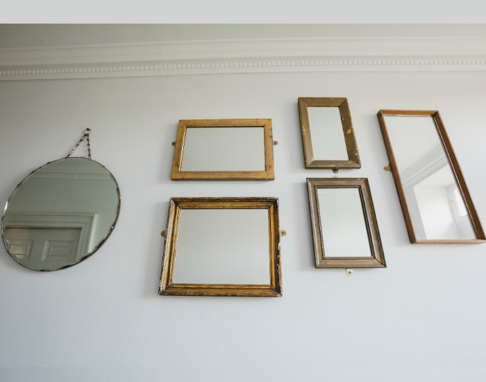 Gallery of mirror for winter