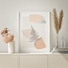 Load image into Gallery viewer, Printable Fern Art - Minimalistic Botanical Art