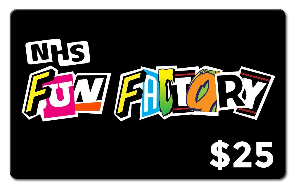NHS Fun Factory Canada Gift Card