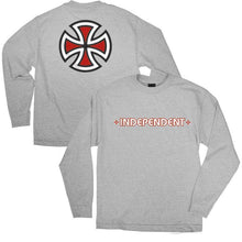 Load image into Gallery viewer, INDY YOUTH L/S TEE BAR/CROSS
