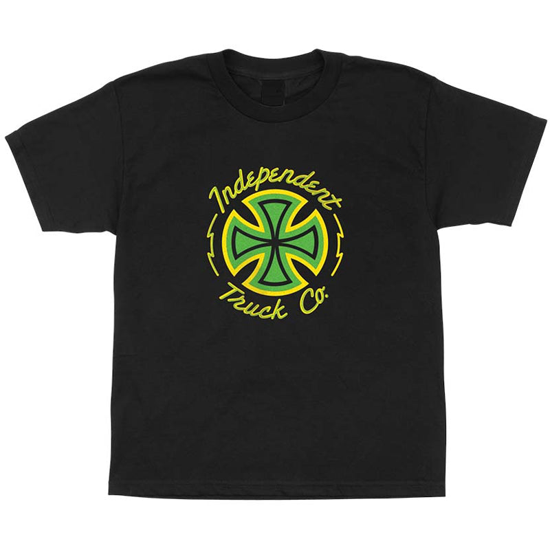 INDY YOUTH TEE NEON CROSS
