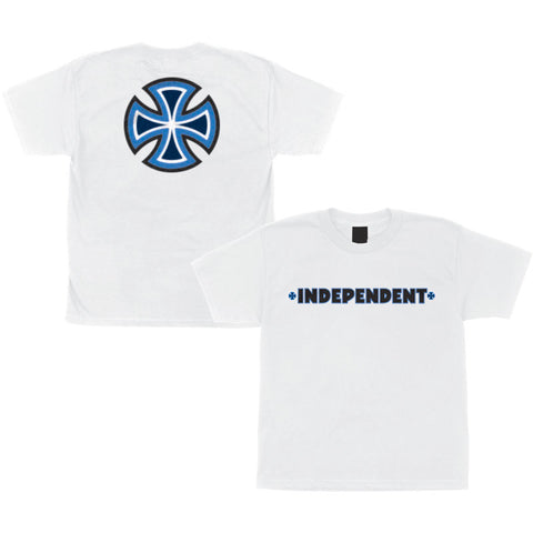 INDY YOUTH TEE B/C PRIMARY