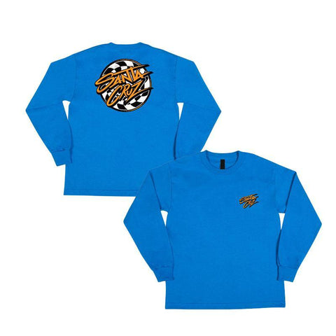 SANTA CRUZ YOUTH L/S TEE BURNDOWN