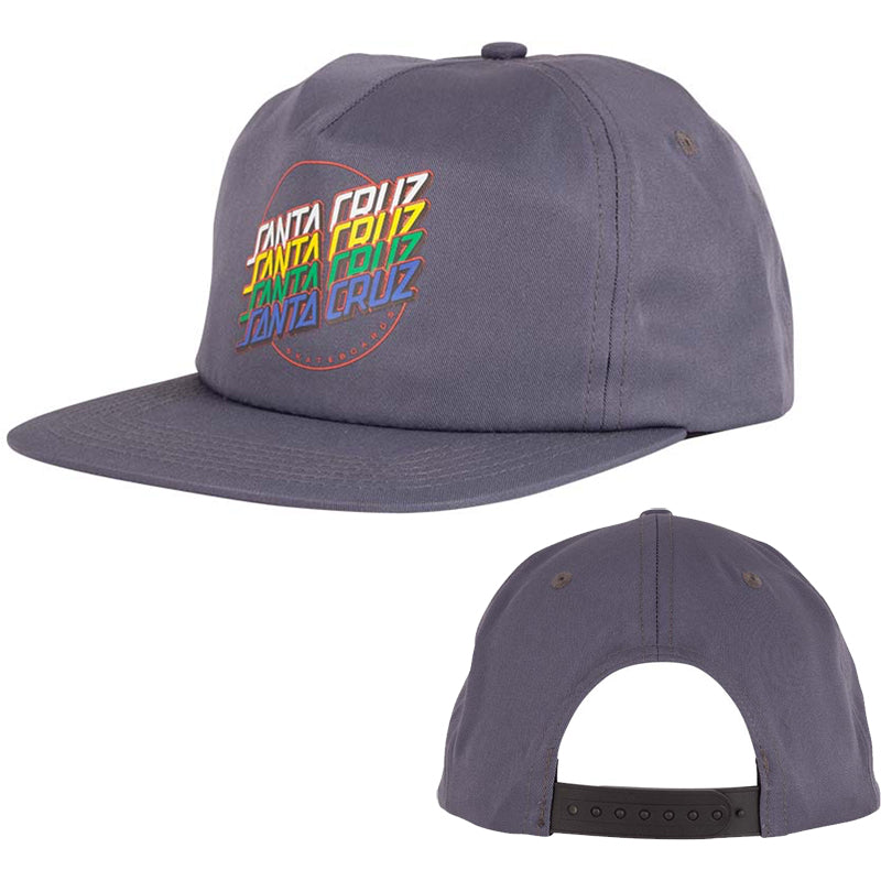 SANTA CRUZ SNAPBACK MULTI STRIP