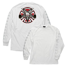 Load image into Gallery viewer, INDY X THRASHER L/S T-SHIRT PENTAGRAM CROSS